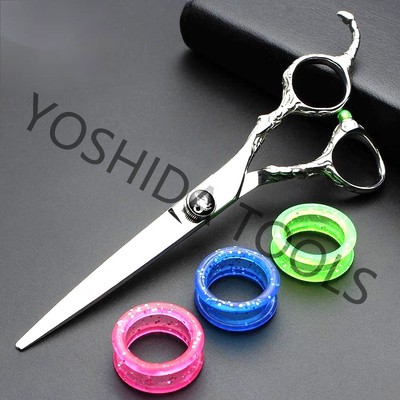 Imported Japanese Steel 6.0 inch Hair Scissors For Hairdressing Tools