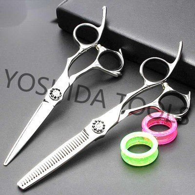 Germany 440c Steel Hot Sale Barber Special Hair Scissors Set